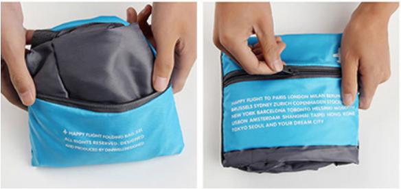子連れ機内持ち込みバッグはコンパクトになる