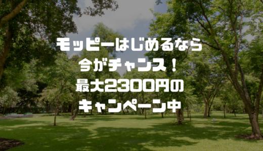 【期間限定4月30日まで!】モッピー友達紹介キャンペーンで最大2300円ゲットできます!