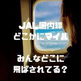 【関空追加!】JALミステリーツアー『どこかにマイル』とは?わずか6,000マイルで無料旅行は史上最強のおトクさ!