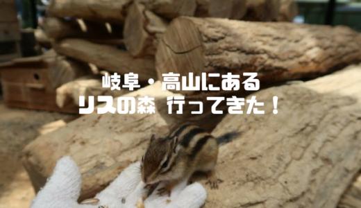 岐阜高山「リスの森飛騨山野草自然庭園」のシマリスが可愛いすぎてキュン死する!