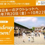 三井アウトレットパーク木更津が拡張オープン!限定プレオープンに行く方法