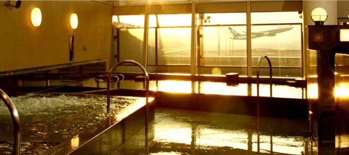 セントレアで暇つぶしに風呂