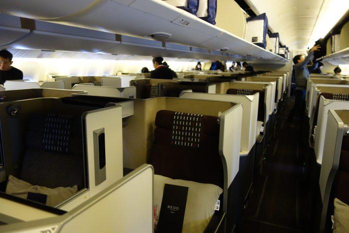 JALボーイング777-300ビジネスクラス