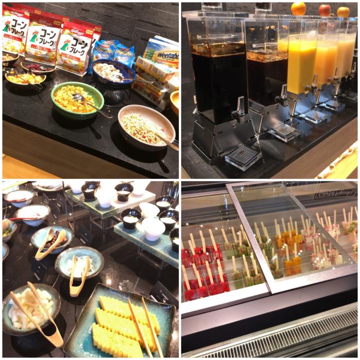 ヒルトン名古屋の朝食ビュッフェ