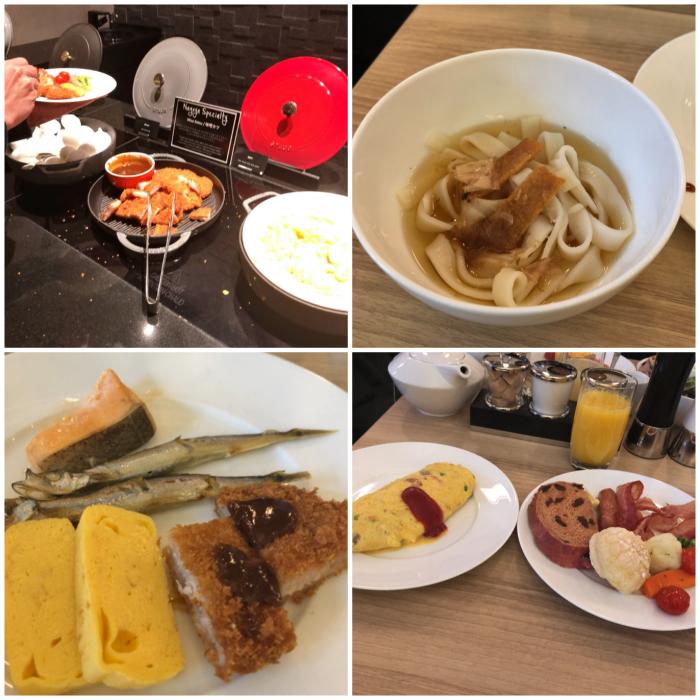 ヒルトン名古屋の朝食バイキング