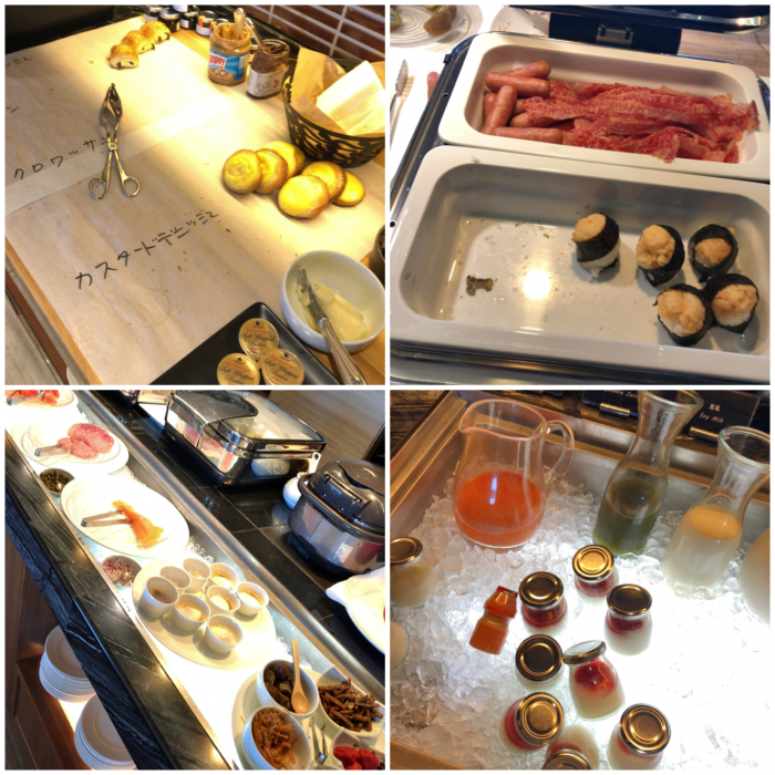 ヒルトン名古屋エグゼクティブラウンジの朝食
