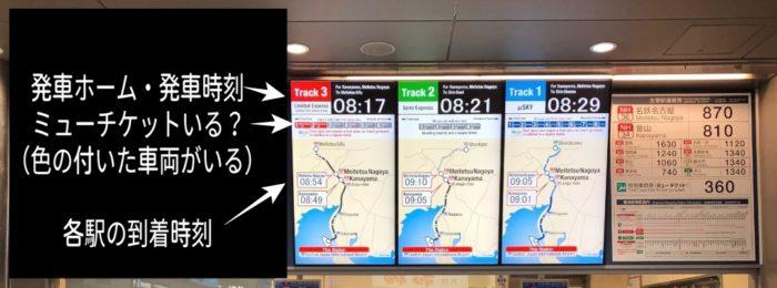 ミュースカイのチケットが必要な電車を解説