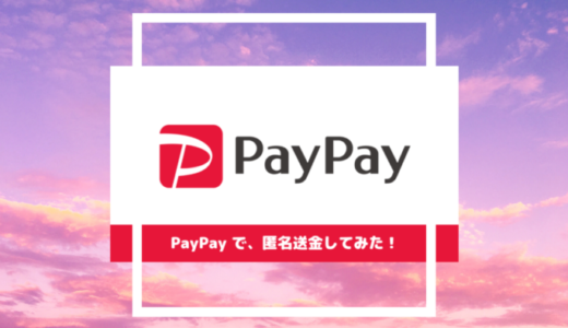 【匿名で送金】TwitterやInstagramの友だちにお金を払うときはPayPayが最適!