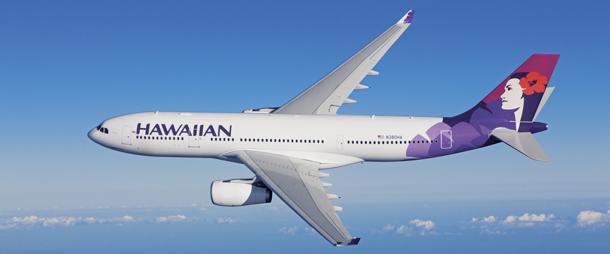 JAL特典航空券でハワイアン航空に乗れる