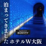 【宿泊記】W大阪に滞在。奇抜なデザインがユニークで楽しい!