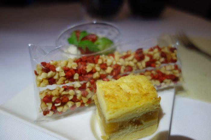 ANAメキシコシティ行きビジネスクラス機内食アミューズ
