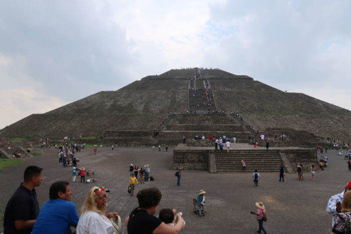 ANAメキシコシティ行きで行ける世界遺産テオティワカン