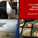 JALビジネスクラス搭乗記。JL737便でセントレアからバンコクへ。機内食、そして噂のライフラットシートはいかに?